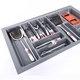 Large Utensil Tray Cutlery Tray Drawer Organizer Cutlery Tray for Kitchen Drawer
