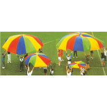 New Products Outdoor Educational Kids Play Rainbow Parachute
