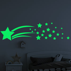 Wall Stickers Dropshipping per Amazon Shopify Murales Luminoso Meteor Adesivo Camera da Letto Decorazione Autoadesivo Smontabile Della Parete