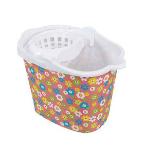 Home Custom Promotional Wholesale Easy Carrying Printing Plastic Mop Bucket