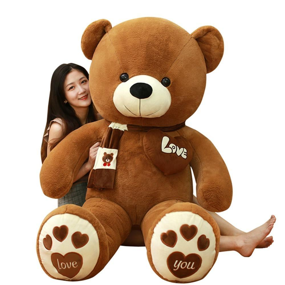 I love you valentine's day gifts giant teddy bear skin 80cm