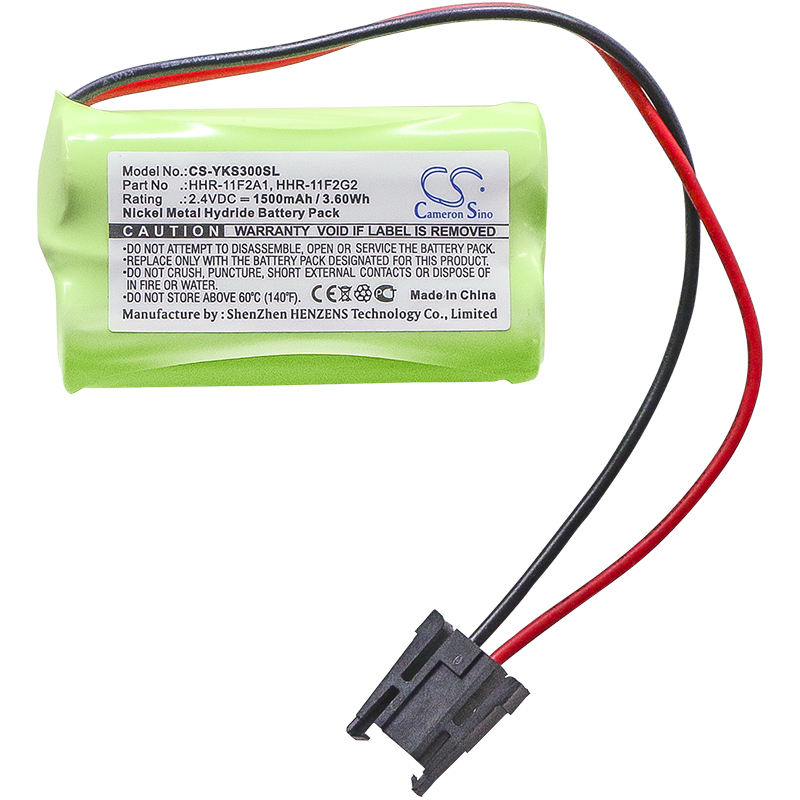 Cameronsino Battery Replacement for Yokogawa CS1000, CS-3000, S9129FA, HHR-11F2A1, HHR-11F2G2 PLC Battery