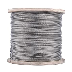 Free Sample Hot Sell 304 1*7 Stainless Steel Wire Rope