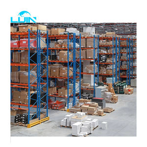 LIJIN Wholesale Factory Customized Industrial 4.5T Per Layer Heavy Duty Warehouse Storage Pallet Rack Shelf