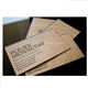 China supplier colour glossy transparent print business card