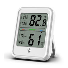Household Temperature Humidity Meter Industrial Grade Large Screen Indoor Weather Station Home Temperature Hygrometer
