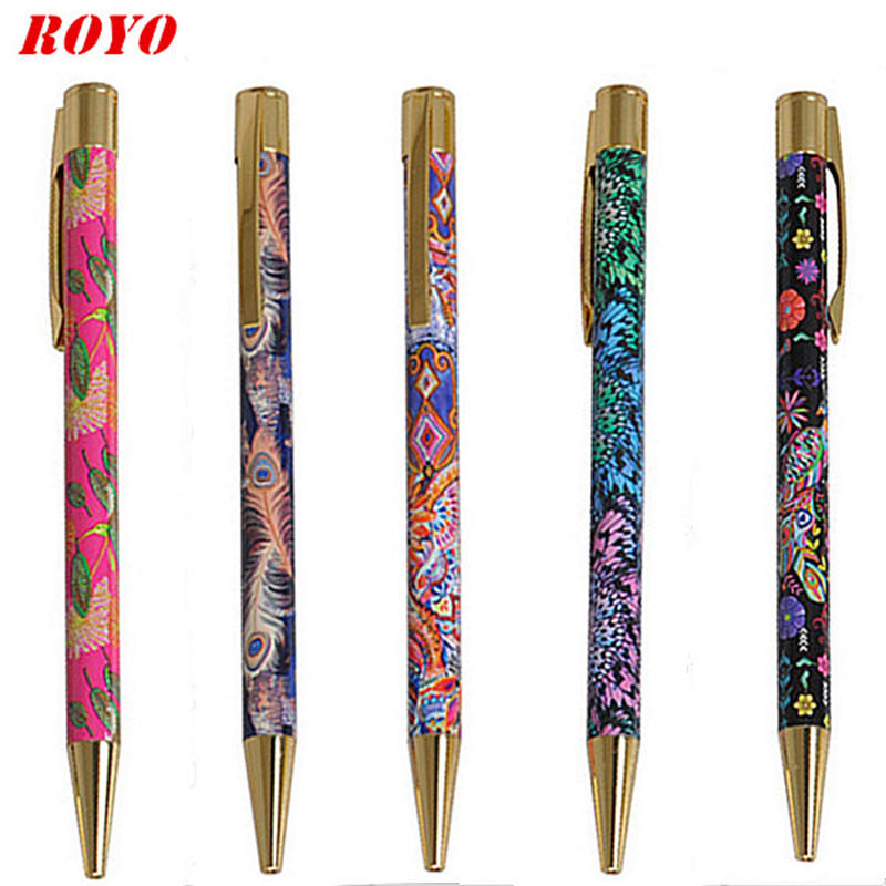 Personalized Heat Transfer Printing Custom Pattern Ballpoint Pens Printing Pen Promotional