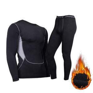 Dri fit bodybuilding fitness wear gym warm compression wear gym wear for men suit