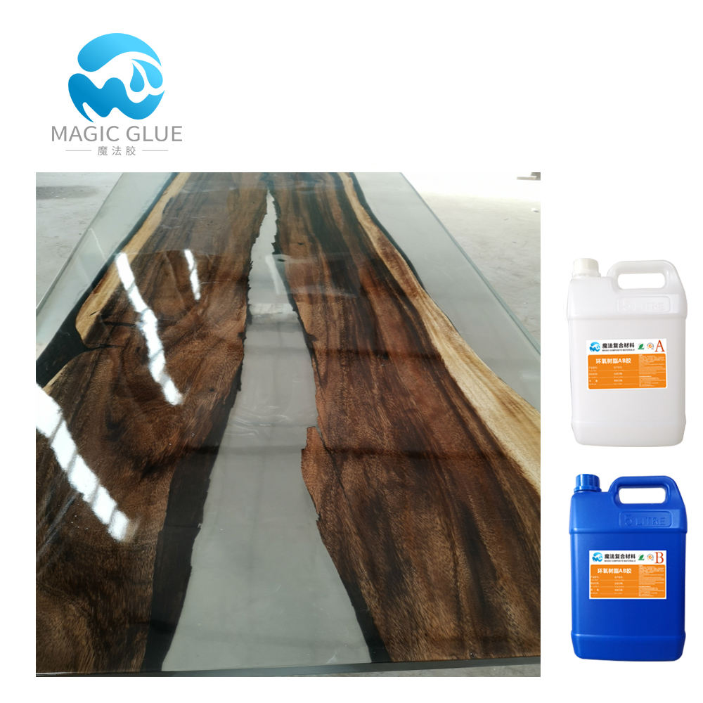 Automatic leveling epoxy resin coffee table price in india