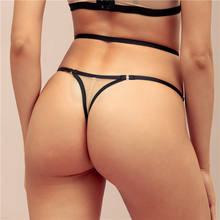 Factory Directly Strappy Elastic Sexy Mini Lace Women Transparent Panty G String
