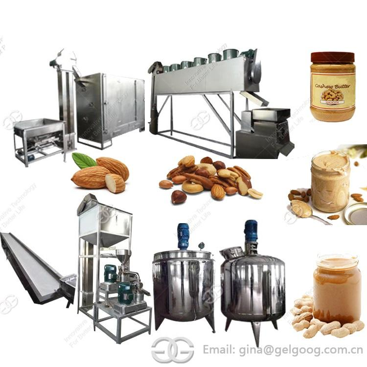 Industrial Small Scale Almond Butter Maker Machine Equipment Make Peanut Butter