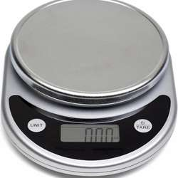 Black and red Digital Multifunction Kitchen and Food Scale