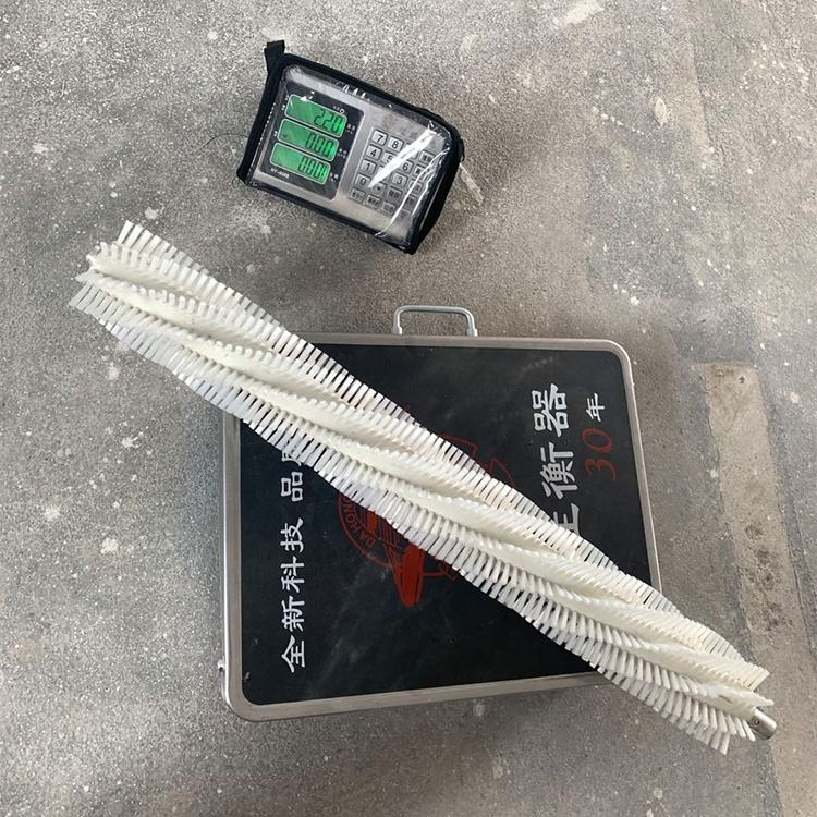 Customized size nylon roller brush for solar panel cleaning