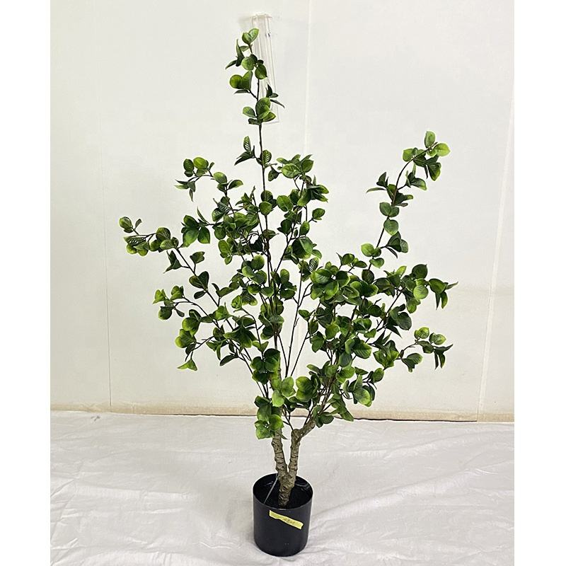 90CM/3ft height indoor plastic artificial mini Petal bonsai tree plant , Petal bonsai tree artificial potted plant artificial