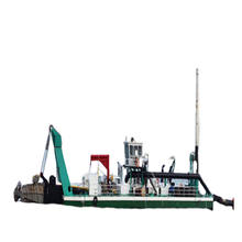 China Cutter River Sand Hydraulic Dredger Sand Suction dredger