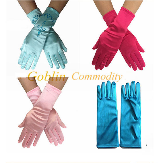 GBFA021 HOT SALE popular movie frozen party supplies Elsa & Anna Princess Crown Hair Wigs Wand glove Cosplay 4 pieces Set