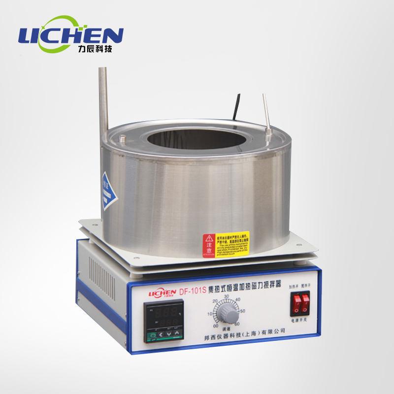 Coleta de laboratório agitador magnético panela em banho de óleo display digital constante temperatura do banho de água