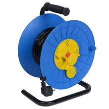 German 50m retractable electric cable reel drum
