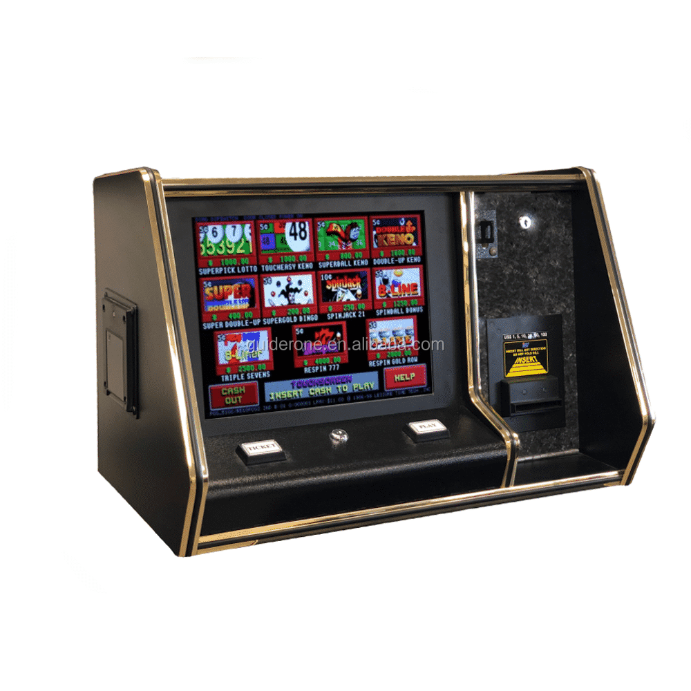"Controsoffitto 15 ""LCD Touchscreen Pot of Gold Slot Machine T340 Pog Gioco Da Tavolo in Magazzino"