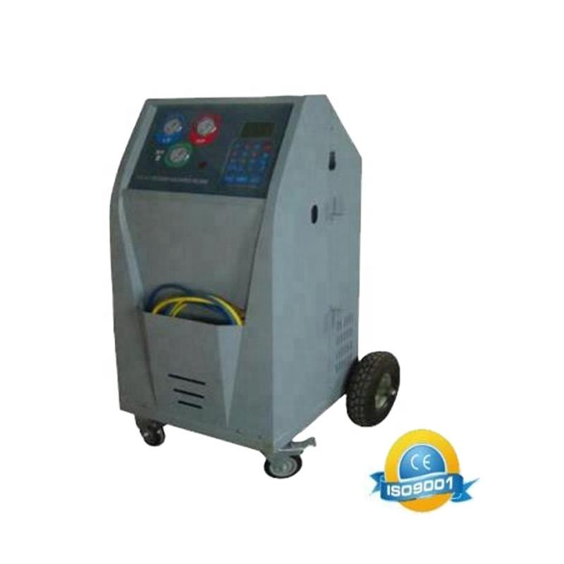 car air conditioning service machine/refrigerant gas recovery machine AC station