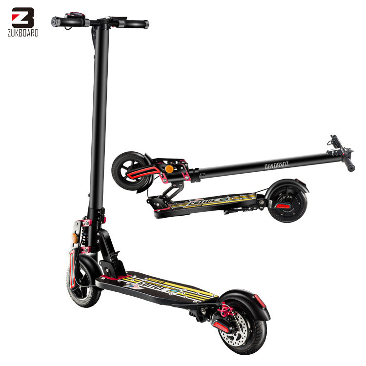 Dual suspension foldable portable electric kick scooter with 10.4 ah lithium battery (ZUKBOARD CITY)