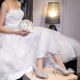Bride Shoes Bride Women High Heel Bride White Crystal Woman Ladies Shoes For Women Wedding