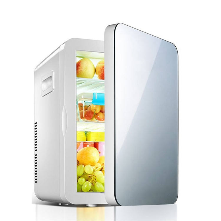 Larger Capacity 10L Cosmetic Fridge Thermoelectric System DC/AC Dual Use Mini Fridge Refrigerators