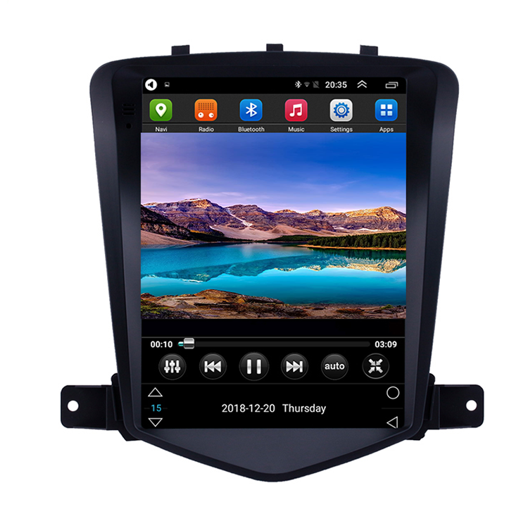 1.6ghz android auto stereo <span class=keywords><strong>dvd</strong></span> 1024*768 Vertical bildschirm auto radio für chevy Chevrolet Classic Cruze 2008-2013
