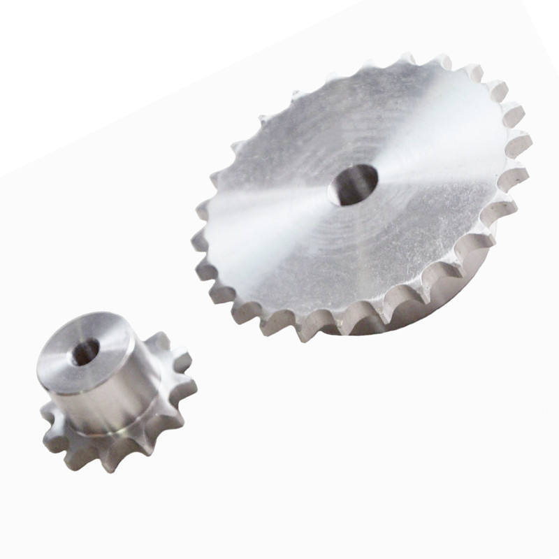High performance stainless steel small roller chain sprocket 06b chain and sprocket wheel