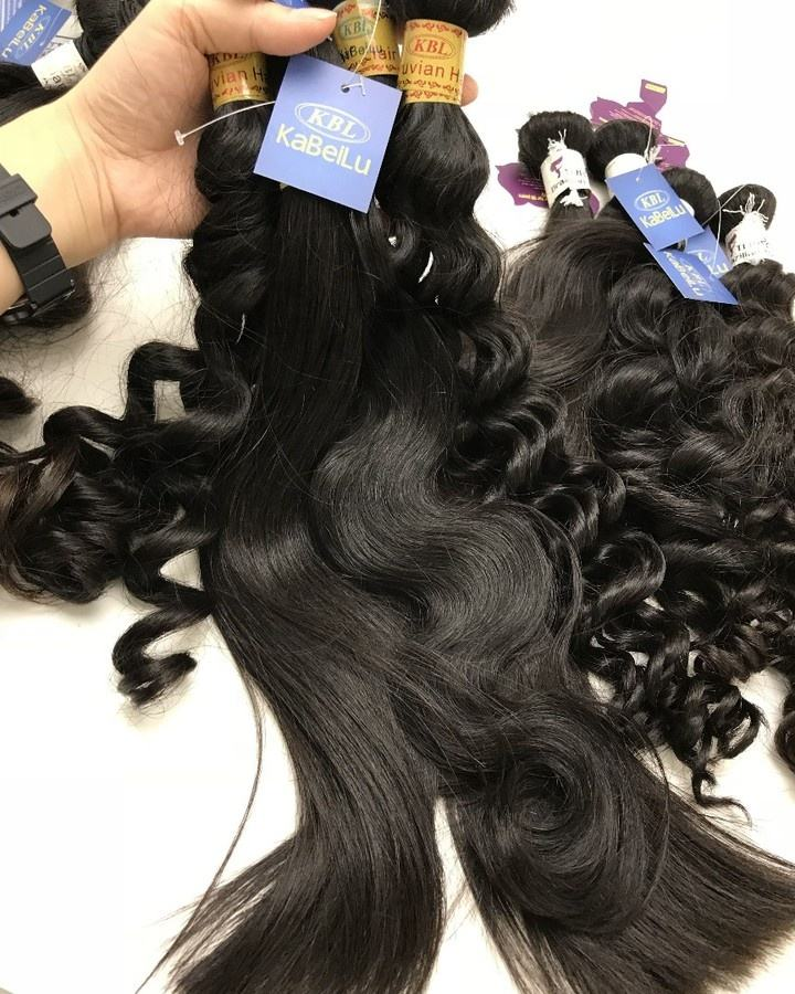 KBL wholesale One donor top grade 5a 100% Cuticle Aligned virgin brazilian hair