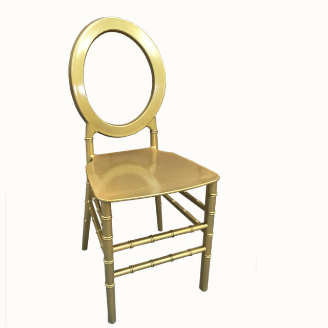 Sinofur trending sale resin stack event o round back chairs