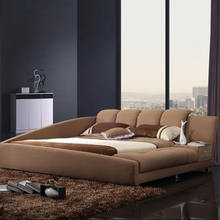 Fashion and hot selling removable and washable bed with drawer and storage box multifunction smart bed
