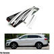 ABS Chrome Side Window Wind Deflector Visor Rain Wind Guard Fit For Sorento 2015+
