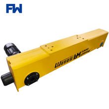2ton Crane End Trucks And Wireless Control With Wheel Blocks For Overhead Cranes End Carriages