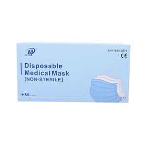 China face mask manufacturer disposable face mask medical print adult 3-ply