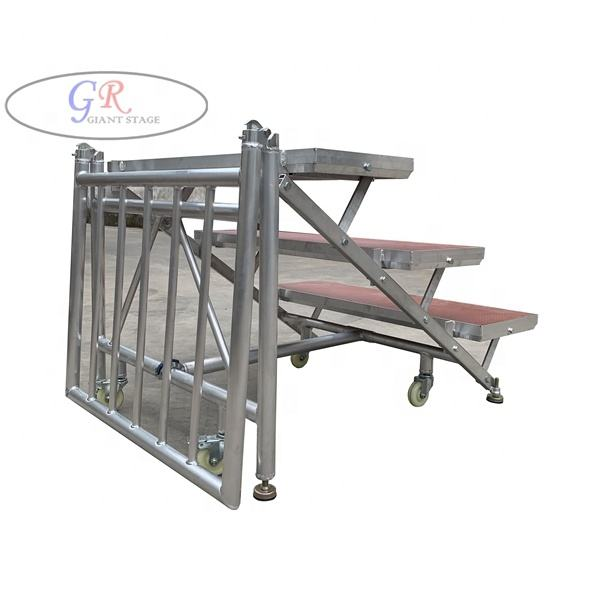 Aluminum Choral Riser Performance Ladder Chorus Staging for school/church