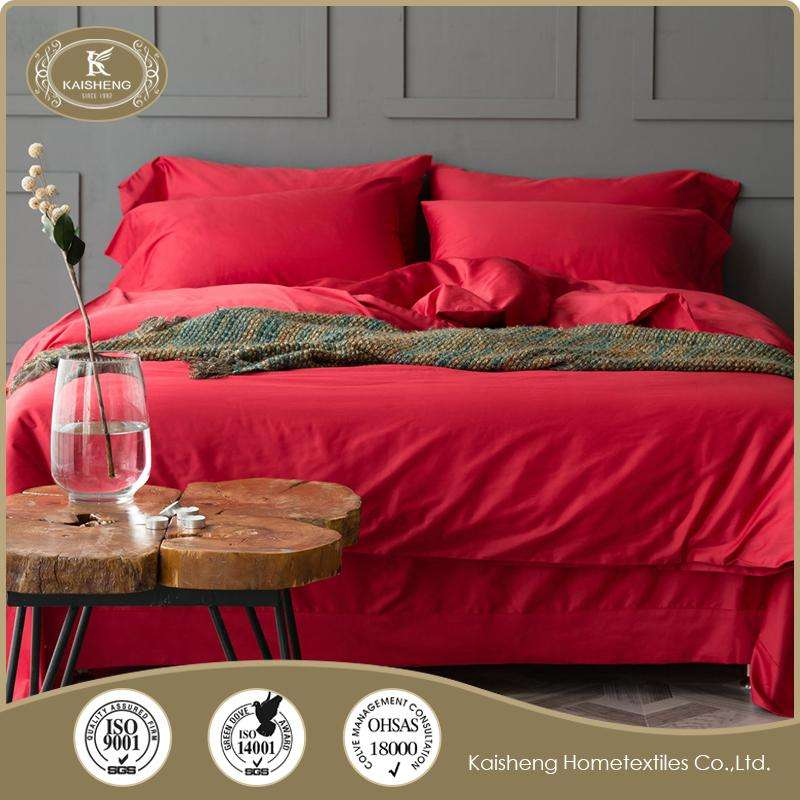 high density egyptian cotton bed linen for sleeping