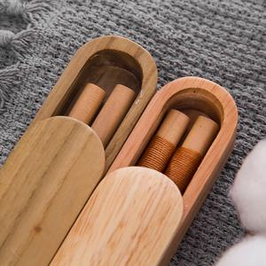 2 chopstick rests 2 pairs of chopsticks made of Red Sandalwood SC-H-S2W-RSW-03 Quantum Abacus Deluxe Wooden Box Chopstick Set Mod