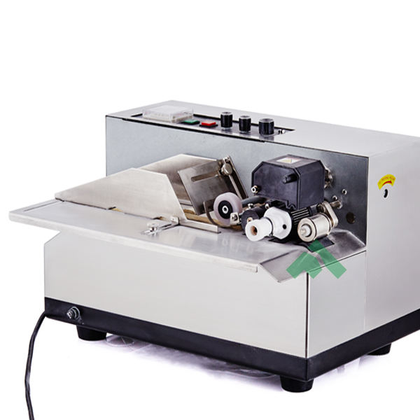 automatic batch solid ink code printer, MY-380 continuous expiry date code printer, plastic bag automatic date code printer