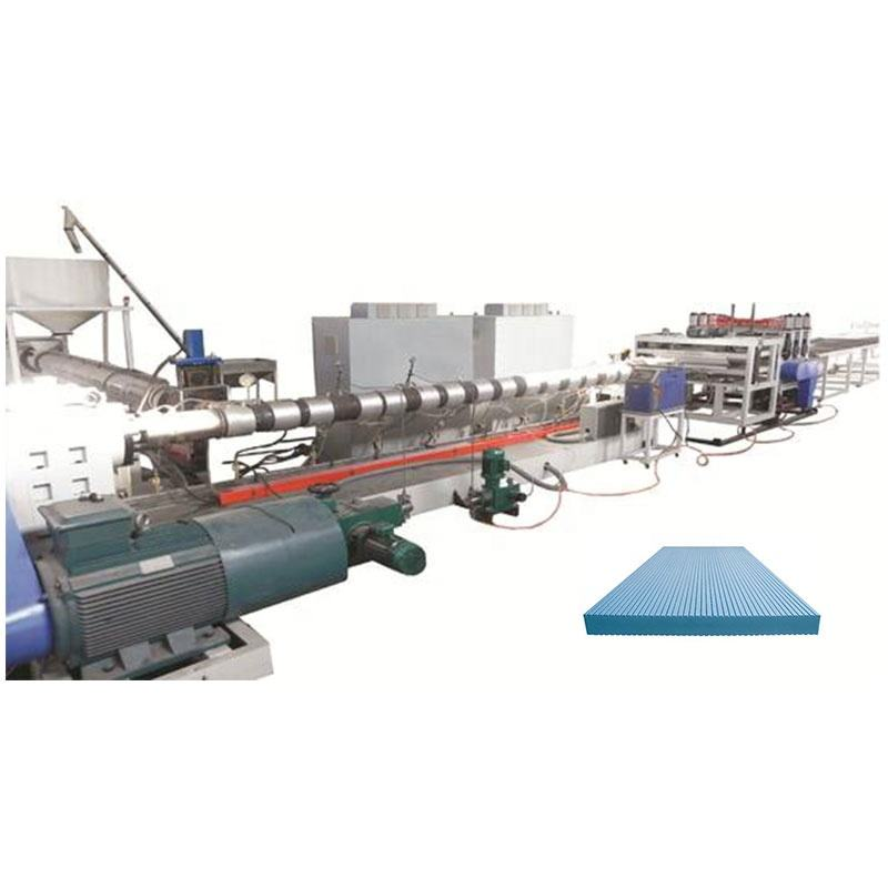 XPS Foam Board Extrusion Production Line Machine With Co2 Foaming Technology