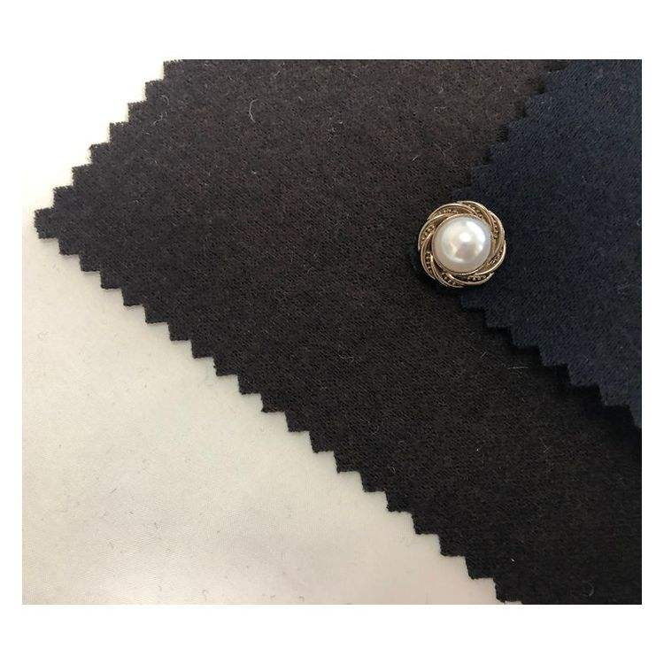 Manufacturer Good Sweat Absorption Woolen Knitted Fabric For Suit