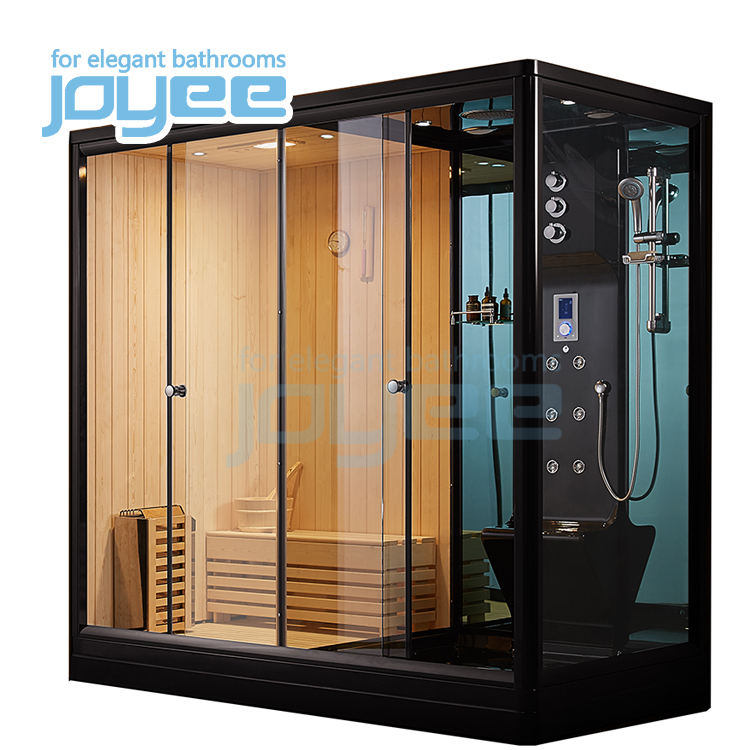 JOYEE bathroom vanities new steam shower prices 2 adult bath china wood sauna with steam