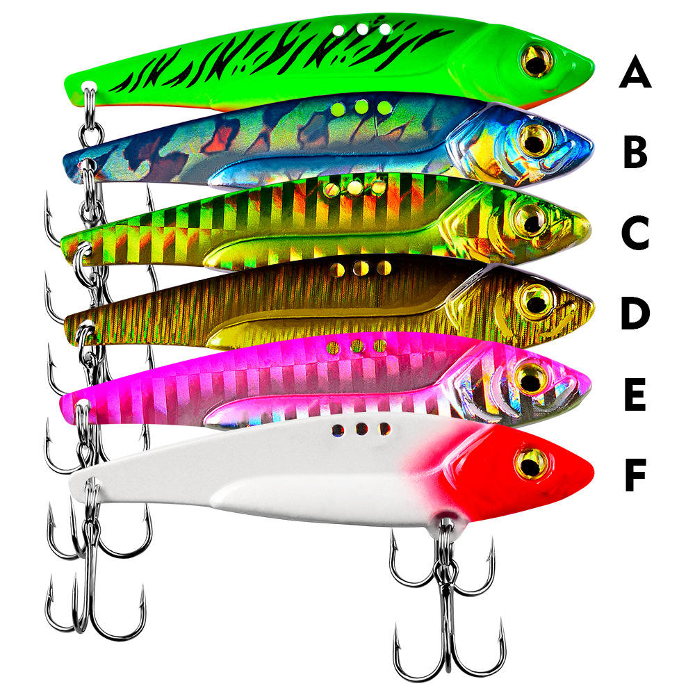 WEIHE On sale good quality 5g/7g/12g/17g/20g metal hard lures vib fishing lure
