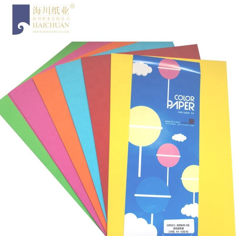 220g Bright Double Sided Pe Coated Paper for Printing and Embossed
