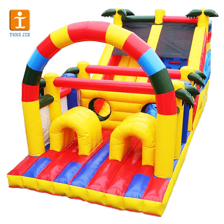 Factory Price Customized Bounce House With Blower Slide for Business Promotion or Kids Inflatable Bounce Castle