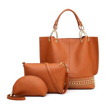 new products ladies shoulder set bag women purses and handbags from china