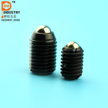 Threaded Stainless Steel & Steel Ball Spring Plunger