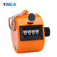 4 Digit Tally Counters Mechanical Palm Clicker Handheld Pitch Click Number Count Hand Tally Counter for Row People Golf