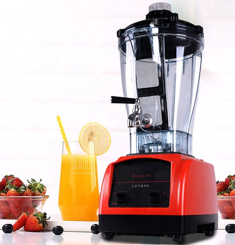 Heavy duty blenders professional ice crusher commercial electric smoothie blender machine