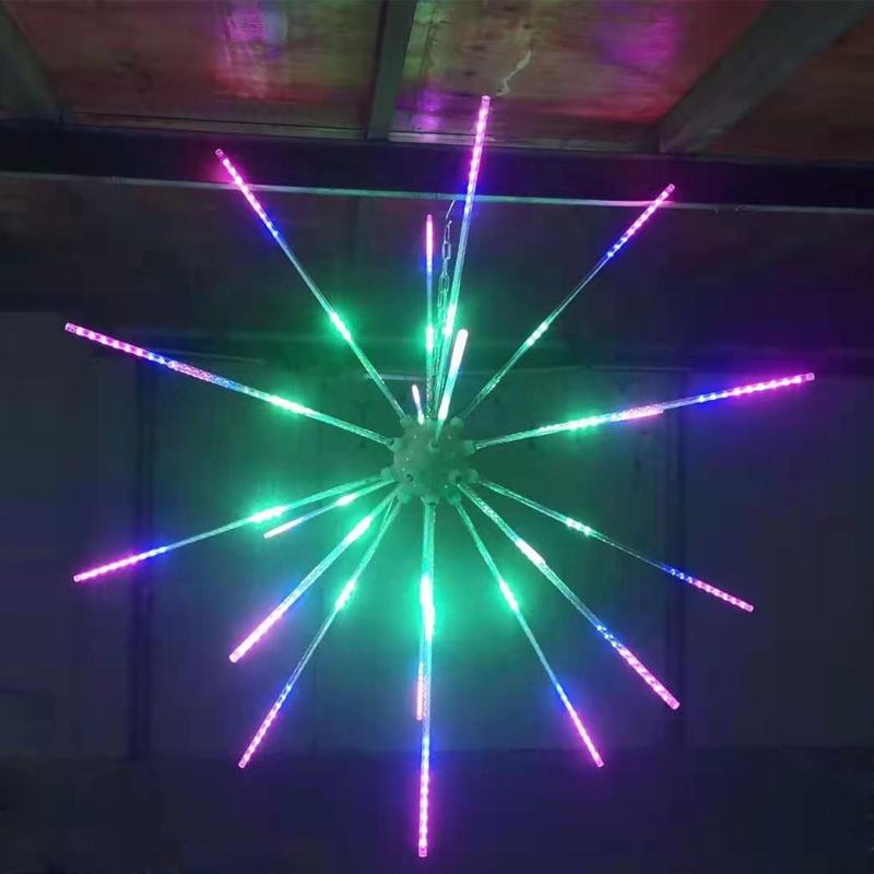 1.2M LED Fireworks RGB Meteor Shower Rain Light Snow Falling Raindrop Lights für Wedding Party Holiday Christmas
